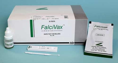 FalciVax, malaria rapid test kits